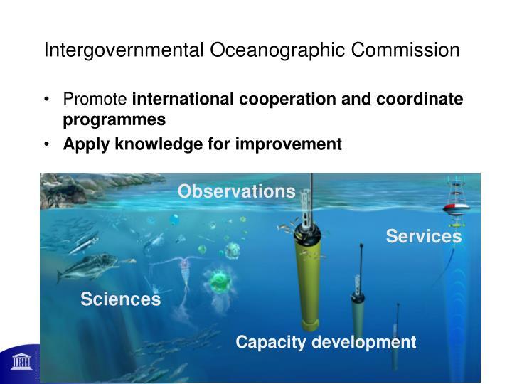 Intergovernmental oceanographic commission
