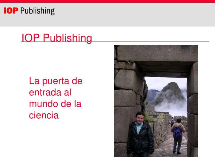 iop publishing n.