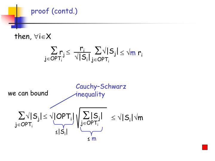 proof (contd.)