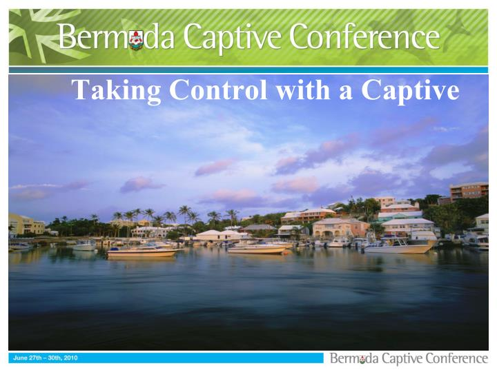 taking control with a captive n.