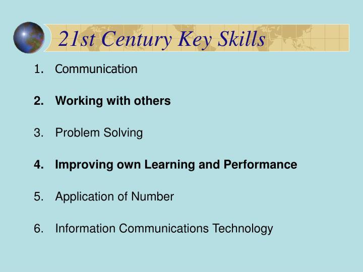 21st Century Key Skills