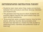 differentiated instruction theory2