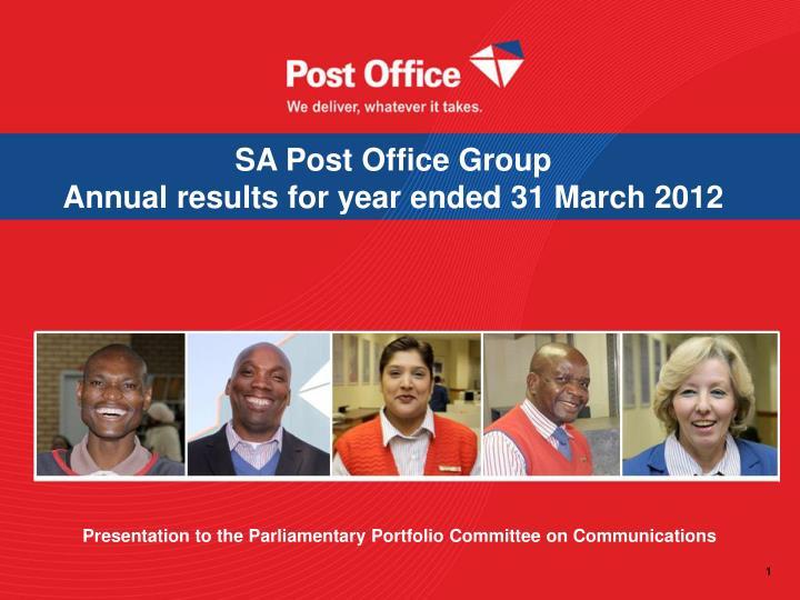 SA Post Office Group