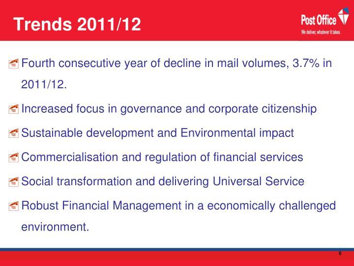 Trends 2011/12