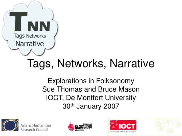 tags networks narrative