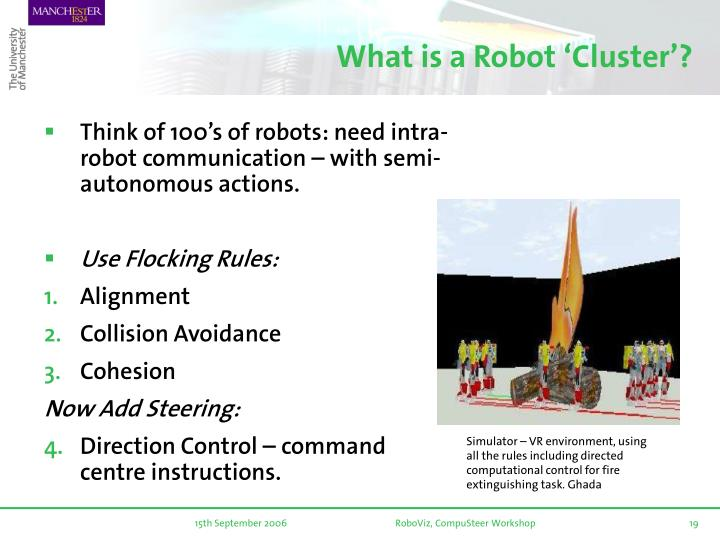 What is a Robot 'Cluster'?