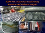 iodp 301 collected and tested many basement and sediment samples