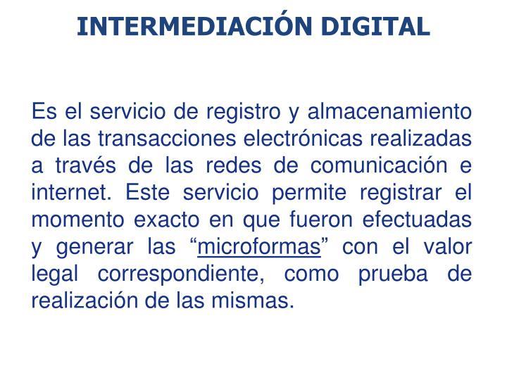 Intermediación Digital