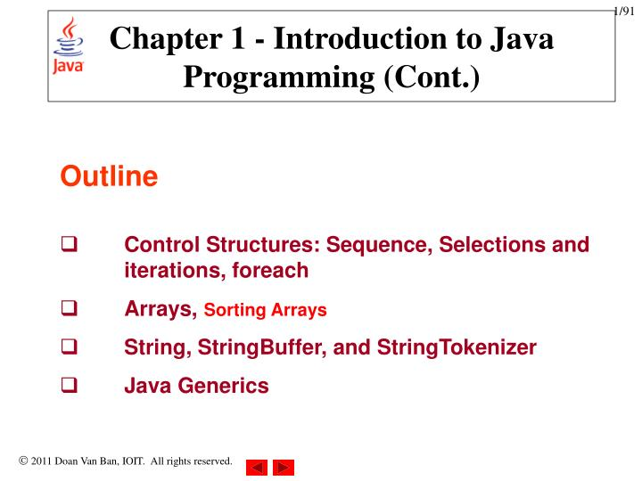 chapter 1 introduction to java programming cont n.