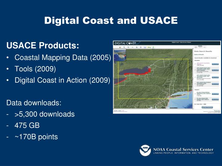 Digital Coast and USACE
