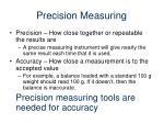 precision measuring1