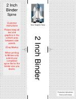 2 inch binder