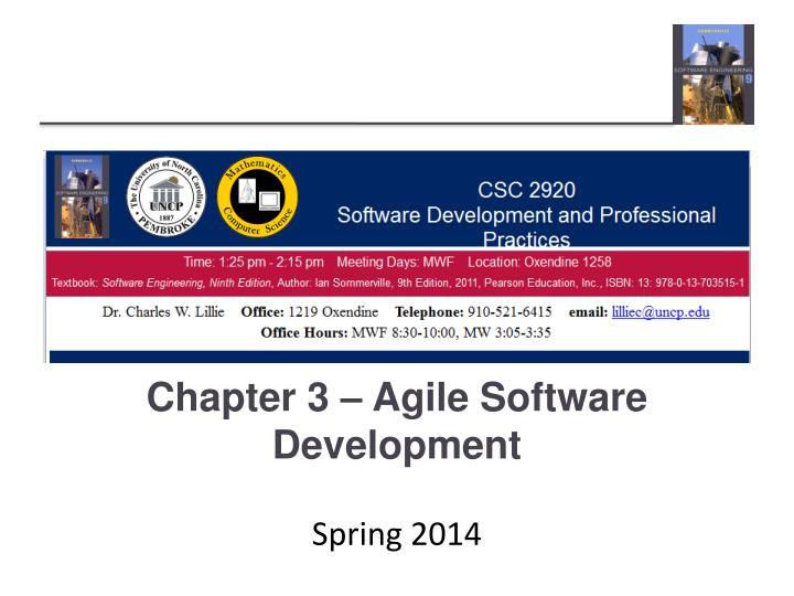 chapter 3 agile software development n.