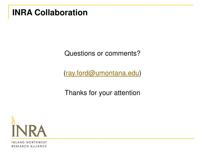 INRA Collaboration