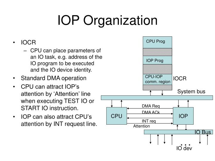 Iop organization