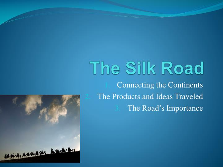 the silk road n.