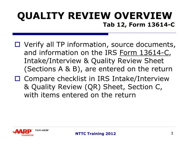 Ppt Quality Review Powerpoint Presentation Id3479955