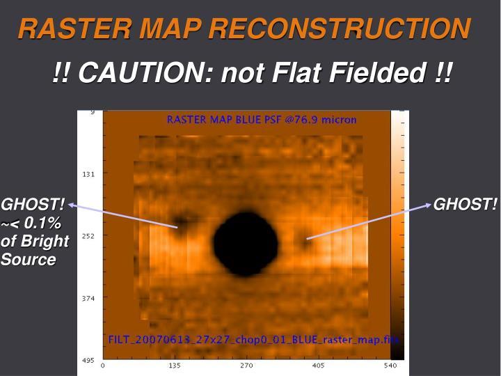 RASTER MAP RECONSTRUCTION