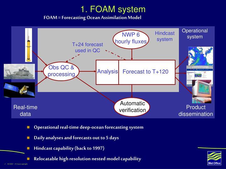 1 foam system