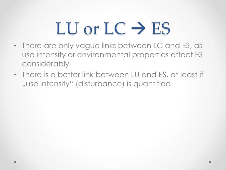 LU or LC