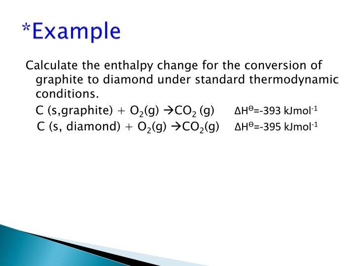 *Example