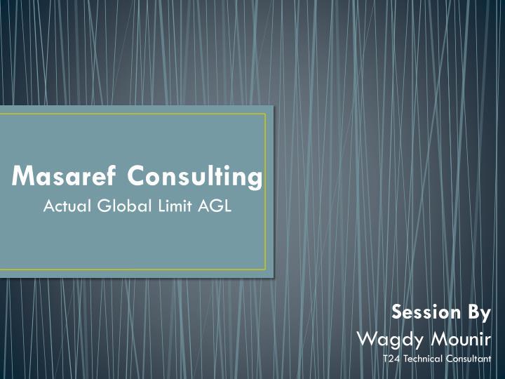 Masaref Consulting