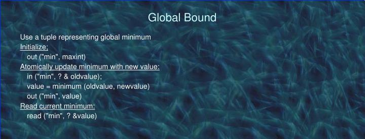 Global Bound