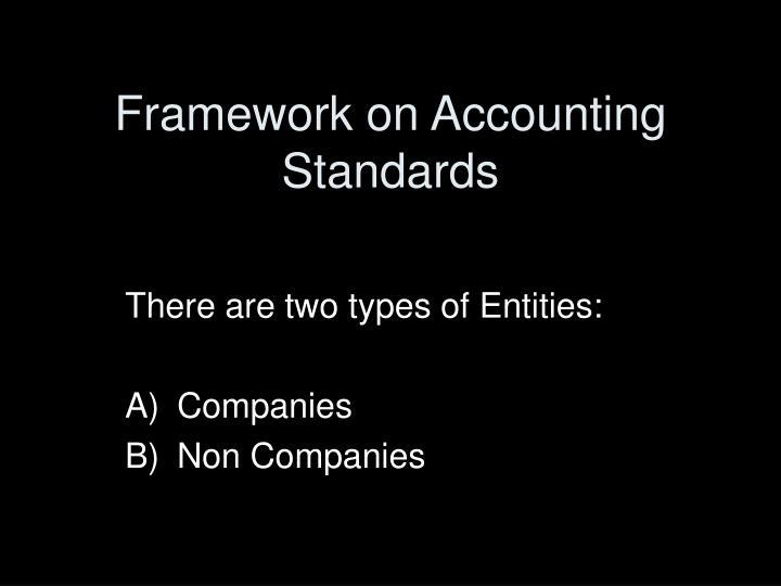 framework on accounting standards n.