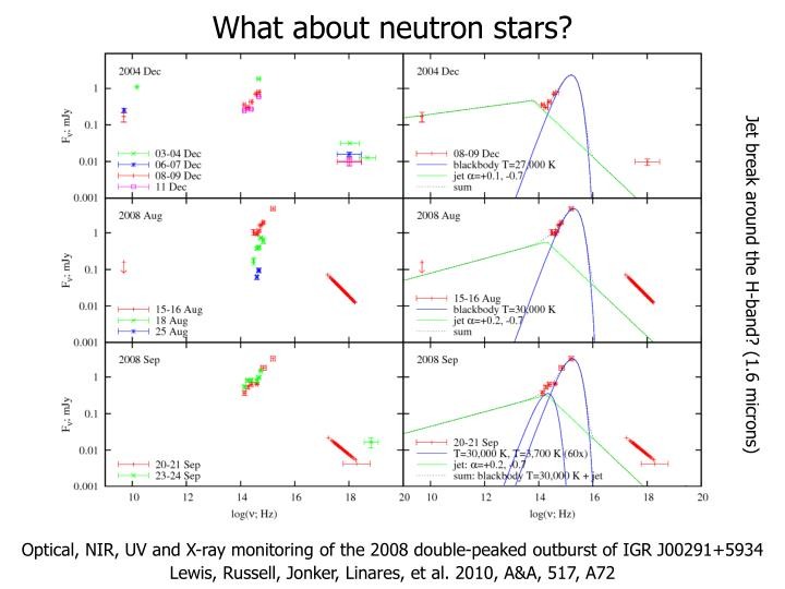 What about neutron stars?