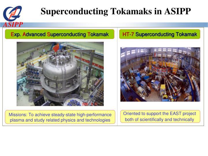 Superconducting Tokamaks in ASIPP