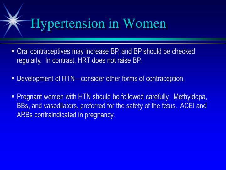 Hypertension in Women