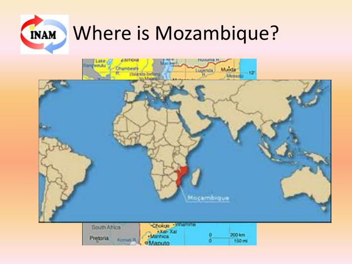 Where Is Maputo Mozambique Maputo Map WorldAtlascom ...