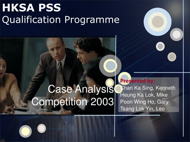 qualification programme qp case analysis competition Unlike other competitions, the case focuses on real estate acquisition, development programming, and investment underwriting at the asset level the competition mimics the circumstances and challenges that students of real estate finance, construction, planning.