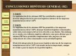 conclusiones hip tesis general h2