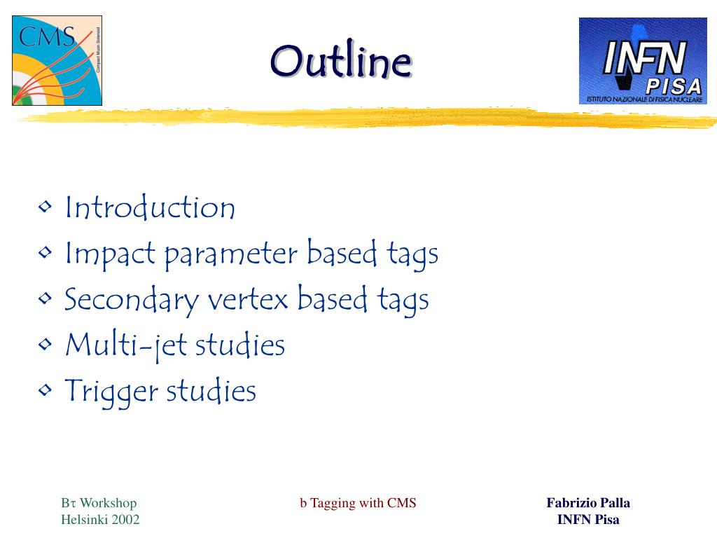 PPT - b Tagging with CMS PowerPoint Presentation - ID:3481761