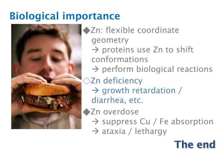 Biological importance