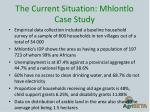 the current situation mhlontlo case study2