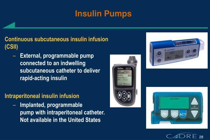 Insulin Pumps