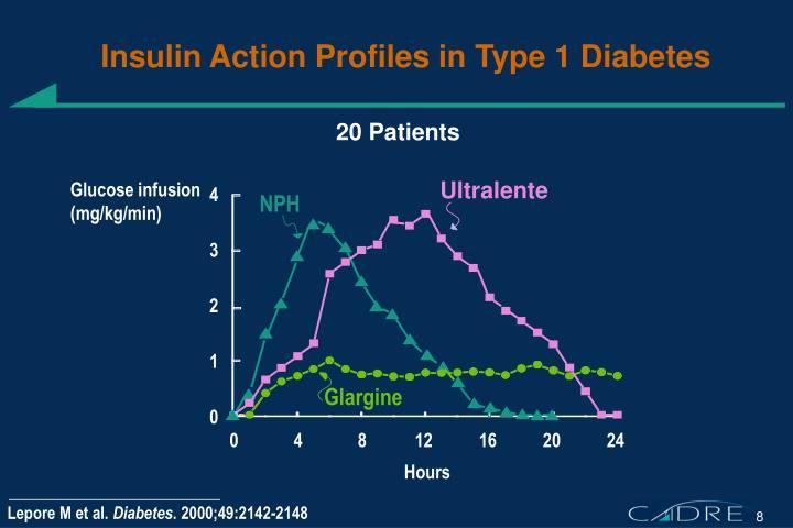 Insulin Action Profiles in Type 1 Diabetes