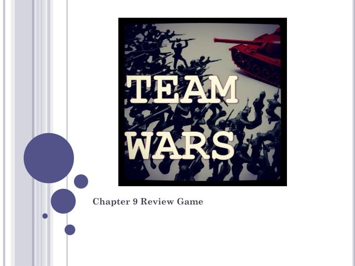 chapter 9 review game n.