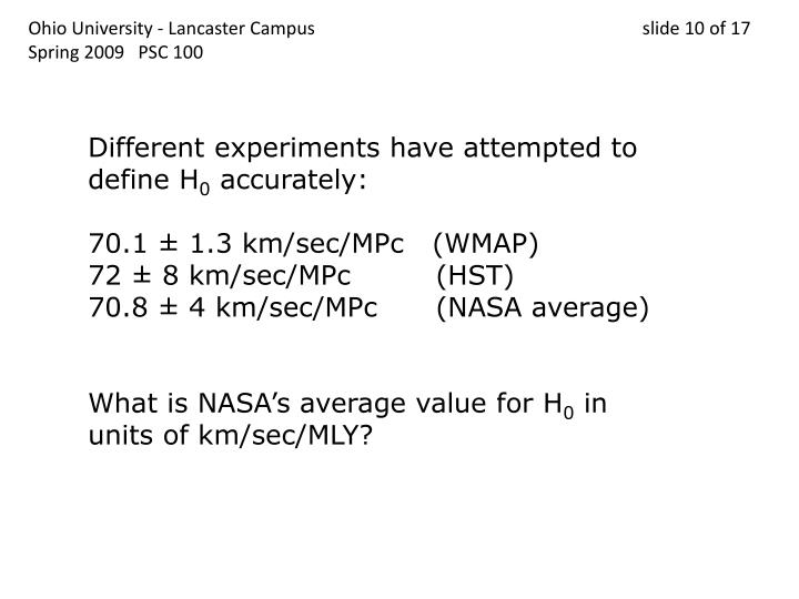 Ohio University - Lancaster Campus                                 slide 10 of 17
