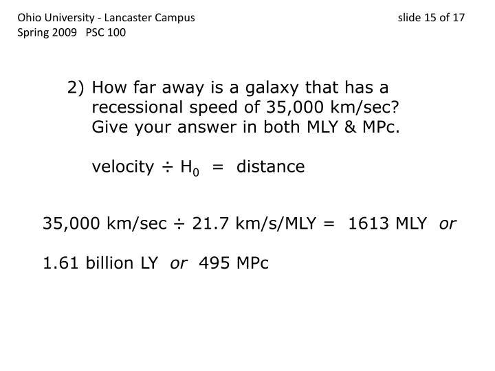 Ohio University - Lancaster Campus                                 slide 15 of 17