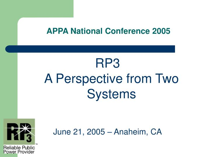 Appa national conference 20051