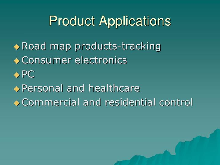 Product Applications