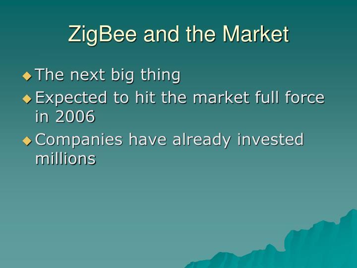 ZigBee and the Market