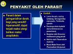 penyakit oleh parasit