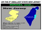 or the 5 th smallest state new jersey