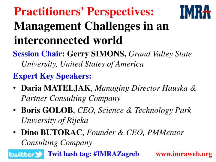 Practitioners' Perspectives: