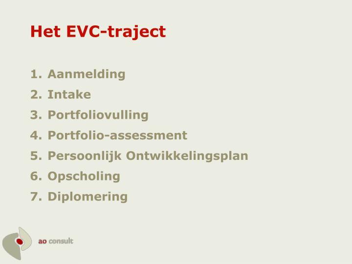 Het EVC-traject
