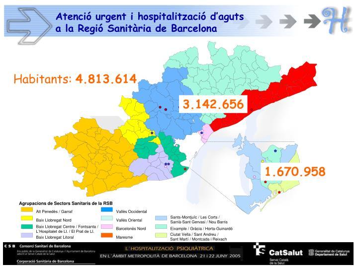 Agrupacions de Sectors Sanitaris de la RSB